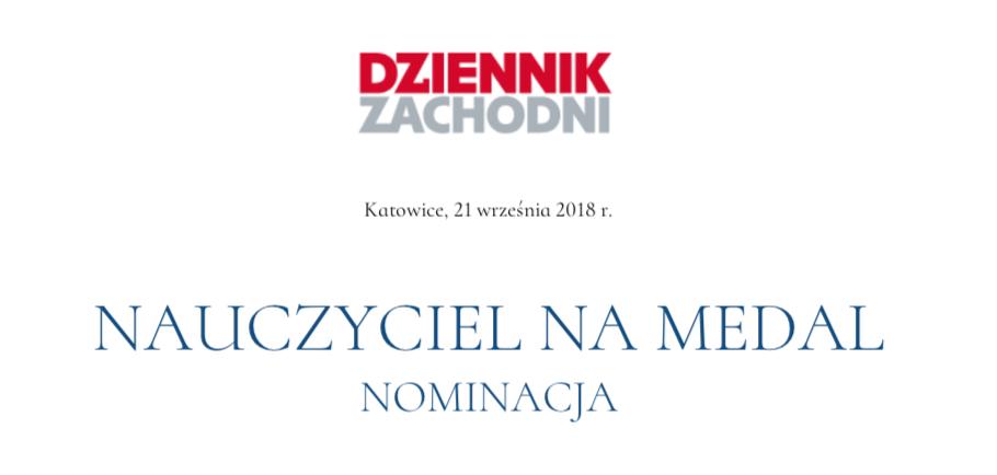 """Nominacja nauczycieli z """"Mechanika"""" – NAUCZYCIELE NA MEDAL"""